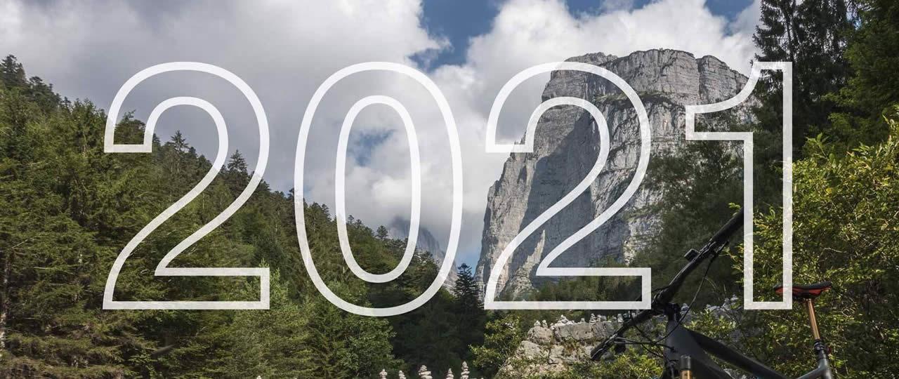 Mountainbike-Kalender 2021 von MTB Guide&Tech